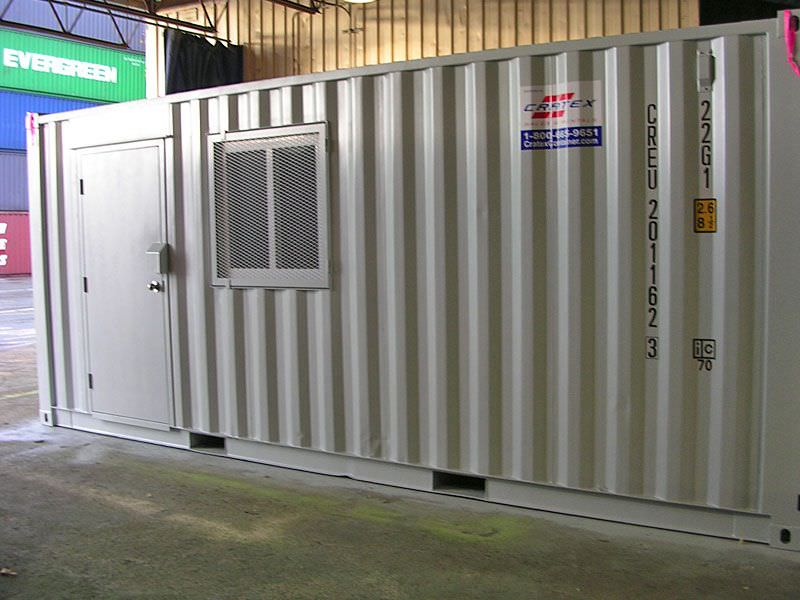 Cratex Custom Container Door and Window