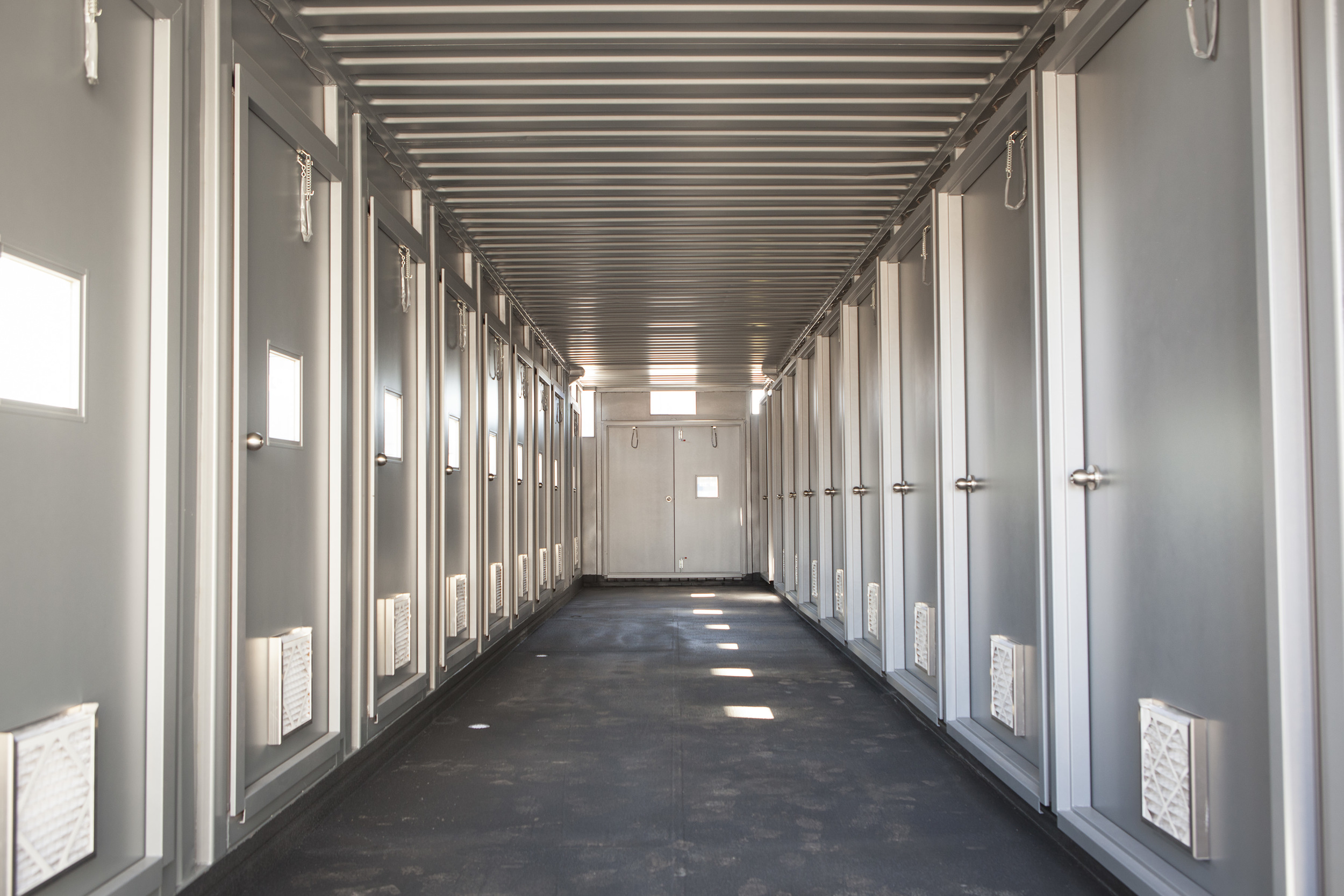 Cratex Custom Container Interior