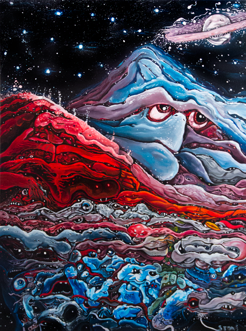 Birth of Mount Olympus