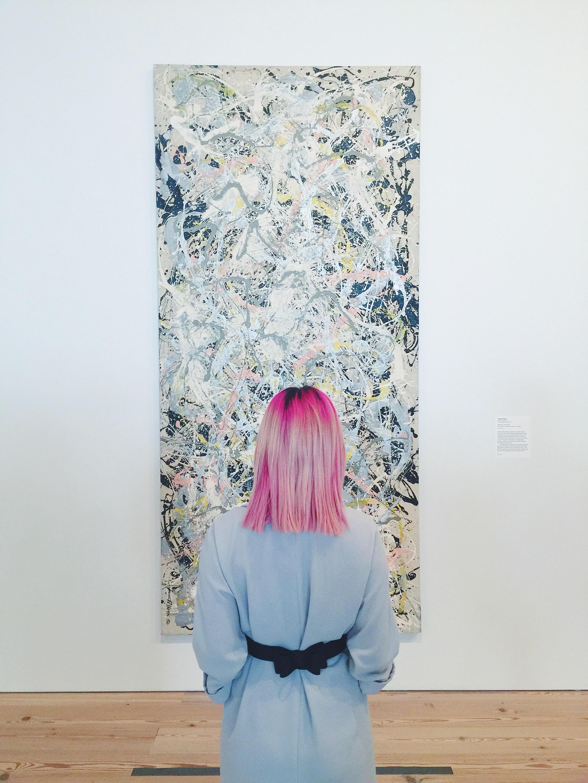 Whitney Museum, Pollock. l October,2015