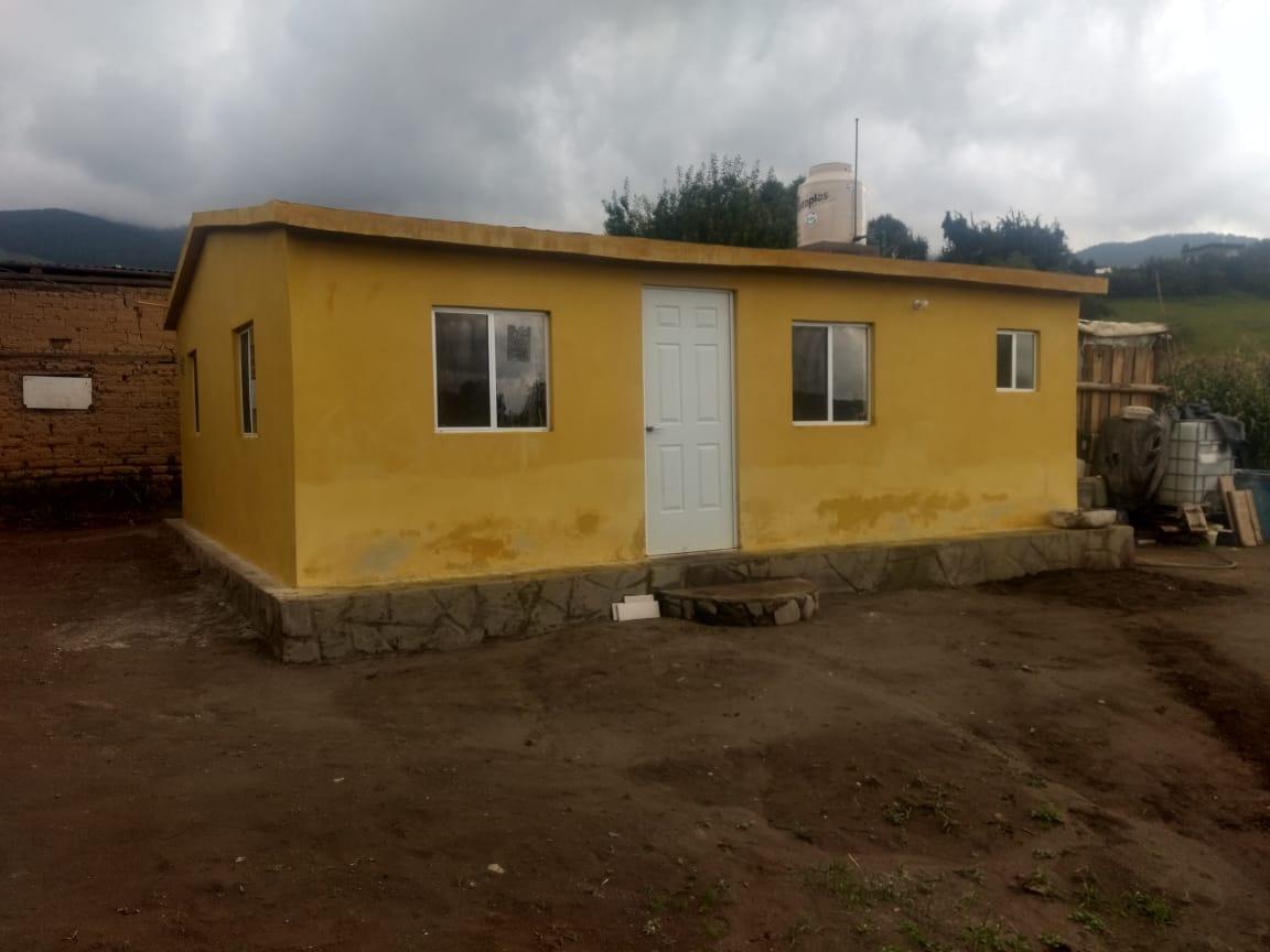 Segunda vivienda terminada