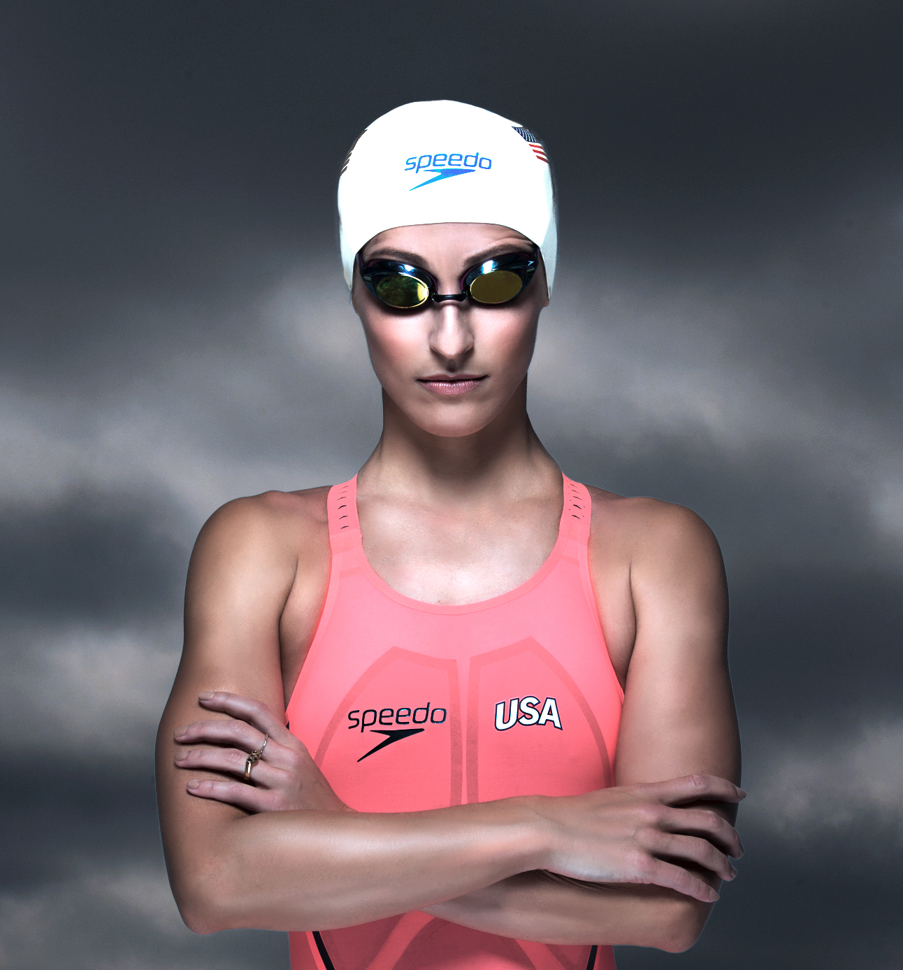 Olympic Medalist Kim (@kimswim) giving her Olympic look ;-)