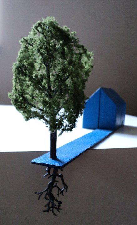 Blue House  by Andrey Kozakov.