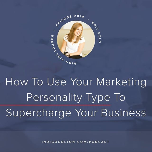 "In today's podcast episode I'm talking with @marketingpersonalities, and we get into so much great stuff!⠀⠀⠀⠀⠀⠀⠀⠀⠀ ⠀⠀⠀⠀⠀⠀⠀⠀⠀ We talk about marketing, and specifically, Brit's marketing personality types. We reveal what both of our marketing personality types are and how we use them in our businesses.⠀⠀⠀⠀⠀⠀⠀⠀⠀ ⠀⠀⠀⠀⠀⠀⠀⠀⠀ (I'm an INFJ in case you're wondering!)⠀⠀⠀⠀⠀⠀⠀⠀⠀ ⠀⠀⠀⠀⠀⠀⠀⠀⠀ This episode is perfect for you if you're itching to ditch the marketing ""should's"" and lean into what works best for YOU.⠀⠀⠀⠀⠀⠀⠀⠀⠀ ⠀⠀⠀⠀⠀⠀⠀⠀⠀ Click the link in my bio, or go to indigocolton.com/episode/19 to give it a listen!⠀⠀⠀⠀⠀⠀⠀⠀⠀ .⠀⠀⠀⠀⠀⠀⠀⠀⠀ .⠀⠀⠀⠀⠀⠀⠀⠀⠀ .⠀⠀⠀⠀⠀⠀⠀⠀⠀ .⠀⠀⠀⠀⠀⠀⠀⠀⠀ .⠀⠀⠀⠀⠀⠀⠀⠀⠀ #abmhappylife #acolorstory #beingboss #bloomyellow #bycacademy #communityovercompetition #creativepreneur #findyourflock #flashesofdelight #gritandvirtue #joyfulcreative #ladypreneur #lovelysquares #mycreativebiz #risingtidesociety #savvybusinessowner #sheworkshisway #sobestfriendsforfrosting #thatsdarling #thedulcetlife #thehappynow #tnchustler #wellnessboulevard #happythankyoumoreplease #fwio2018"