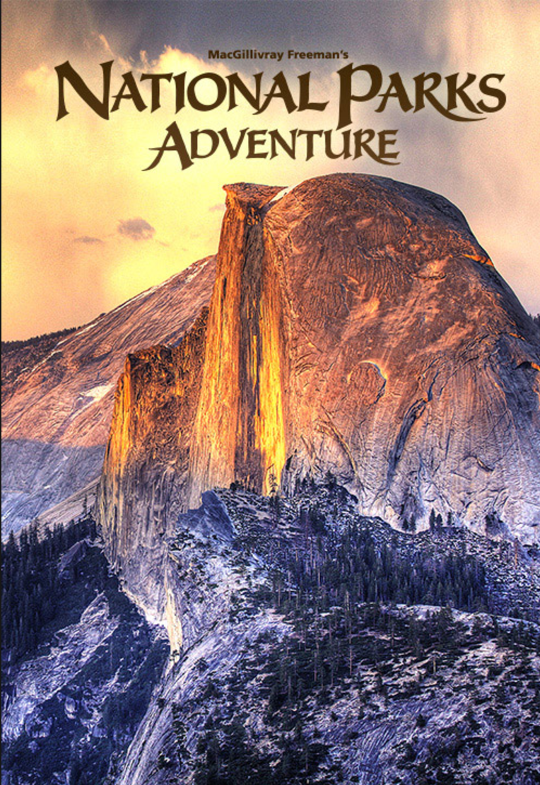 I am one of the main characters in the documentary  National Parks Adventure  along with my friends Conrad Anker and Max Lowe. You can watch now watch it on Netflix!! The film is a fun and breathtaking celebration of our Parks and the quintessential American road trip. You can watch the trailer  here .