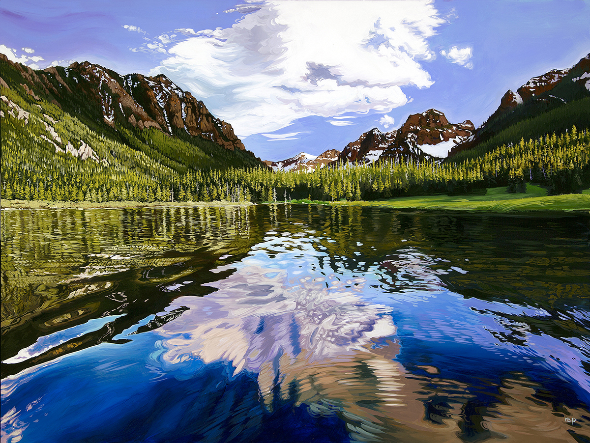 """""""Hyalite Reflections"""""""