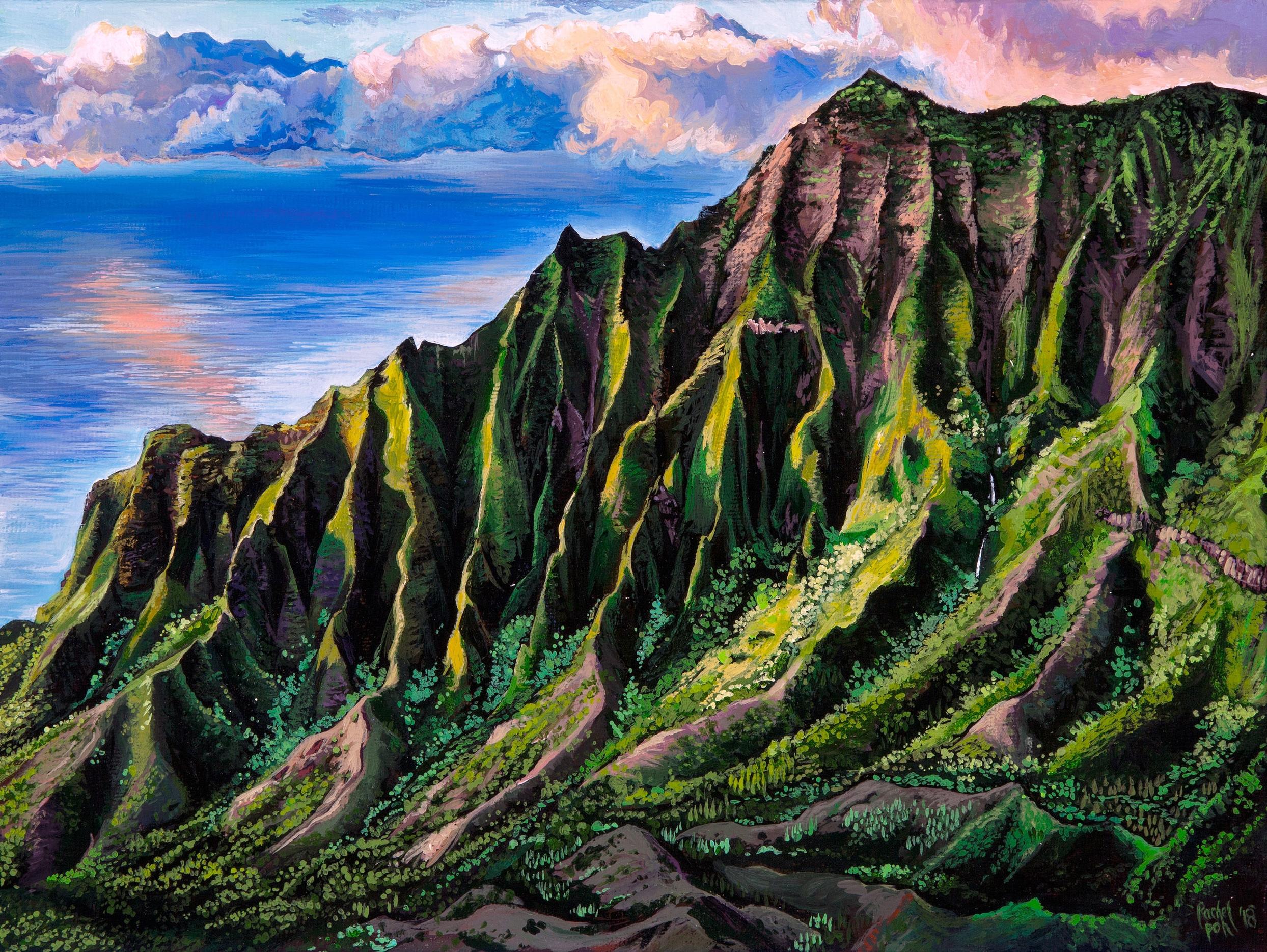 """""""Kalalau Valley"""""""