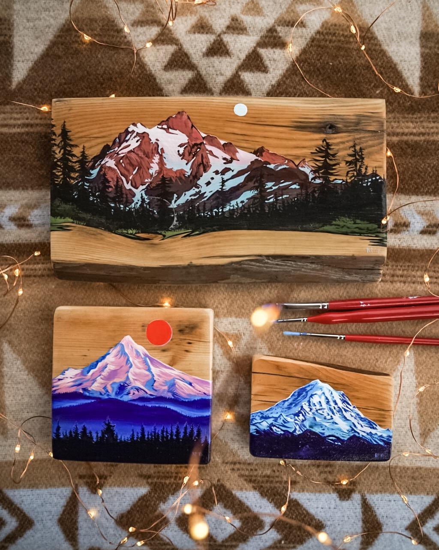 Barnwood Paintings