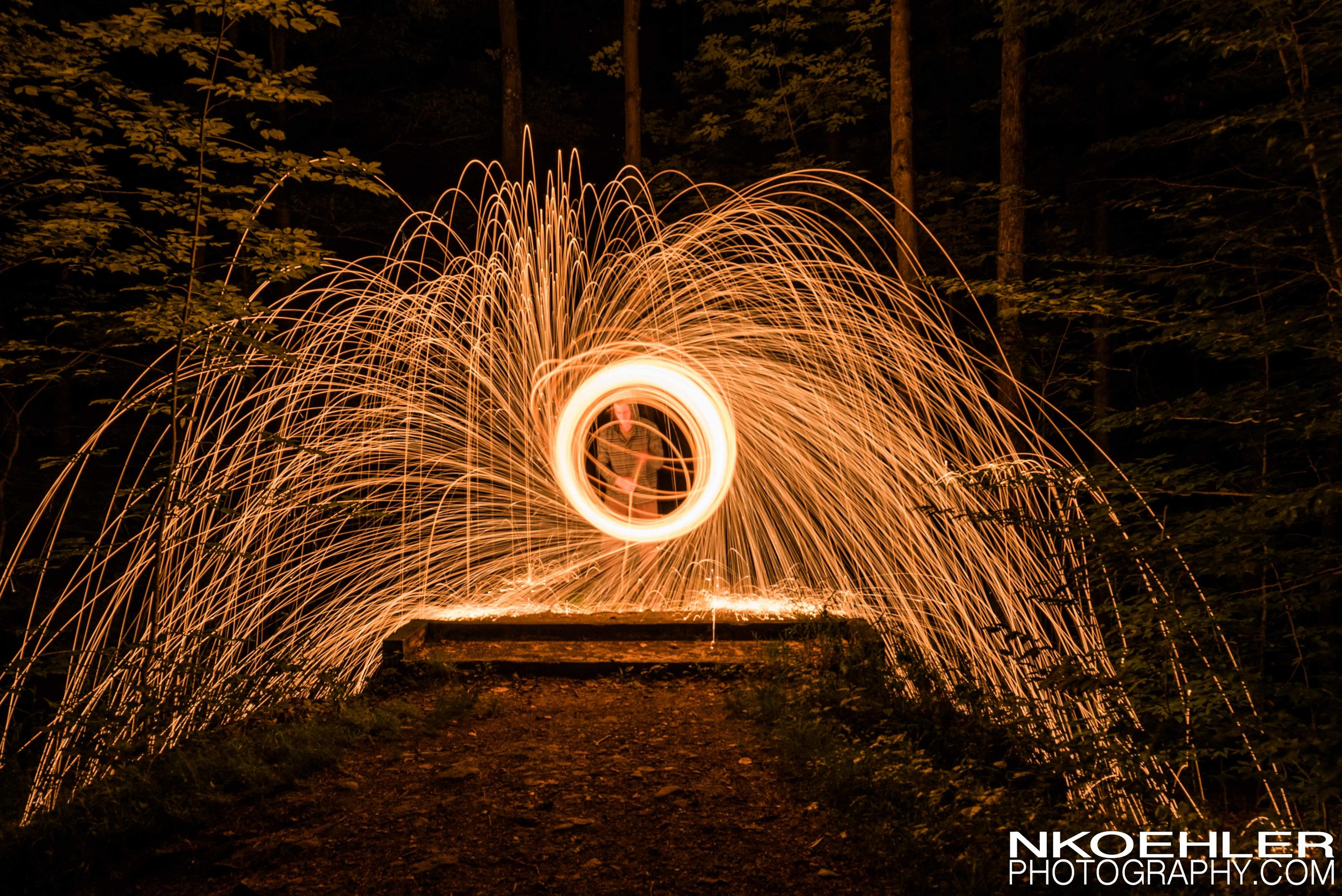 Played with Steel Wool again. Got chased out of the woods by Coyotes.