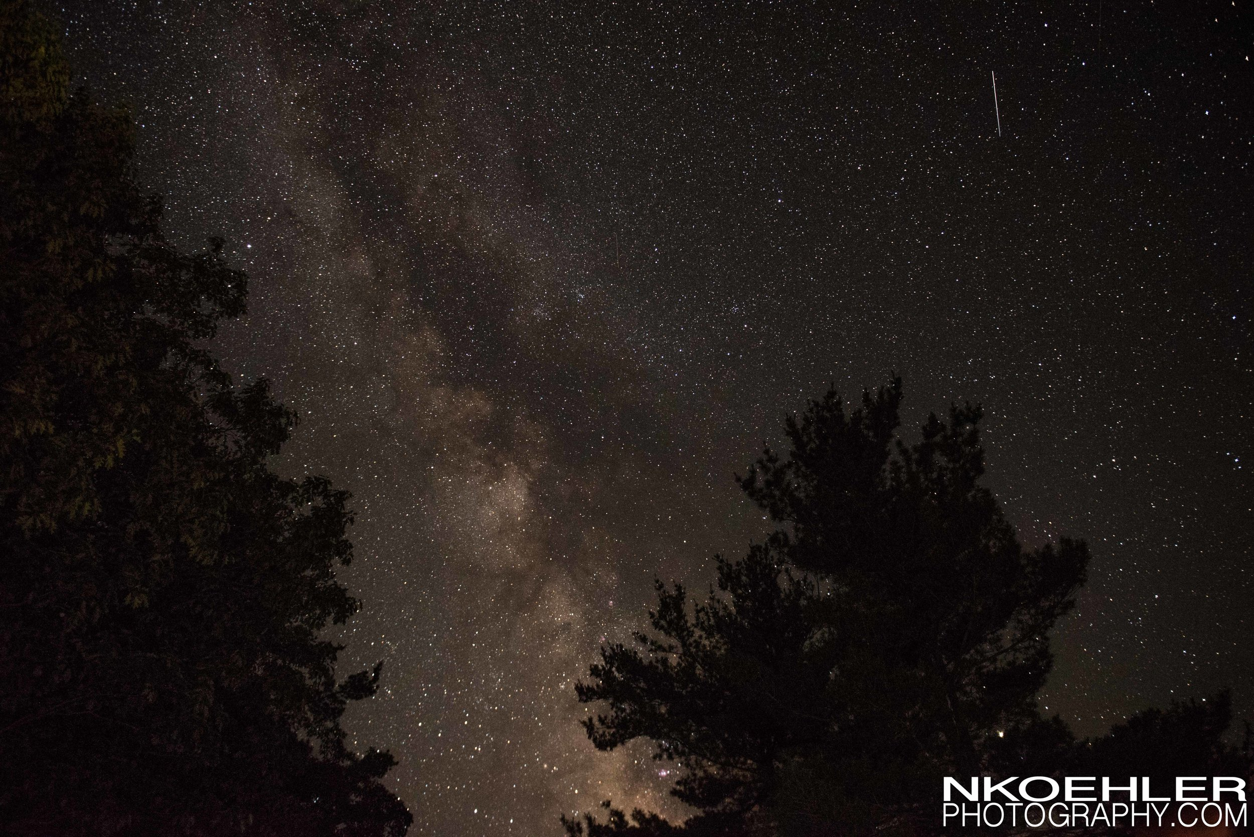Also able to see the Milky Way for the first time around 1am.