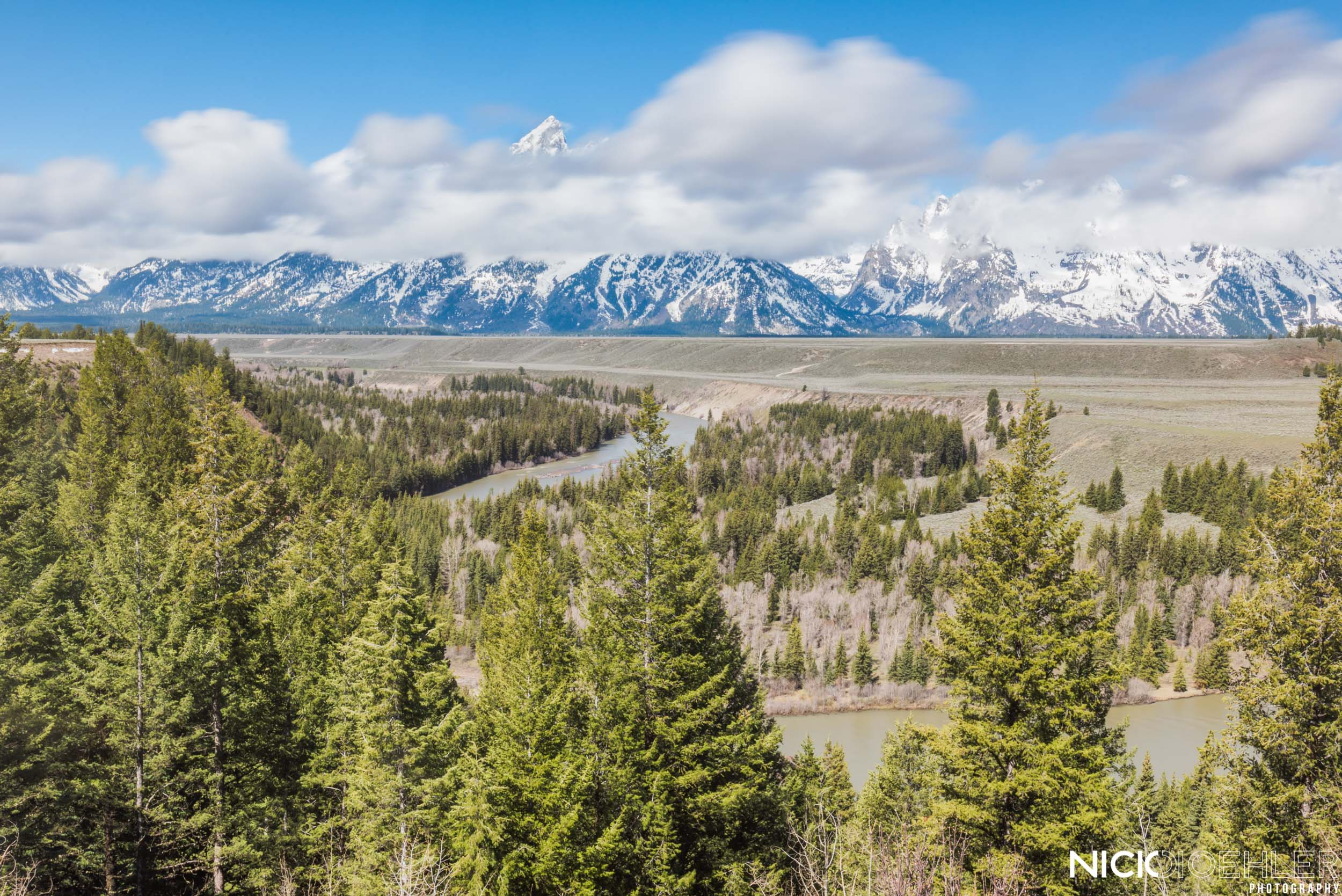 Grand Teton National Park: Experiencing the Teton's from a classic spot.
