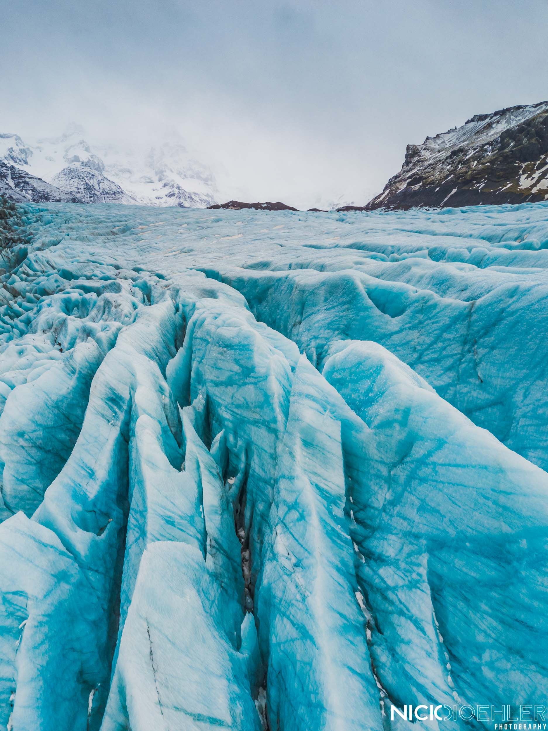 Glacial spikes