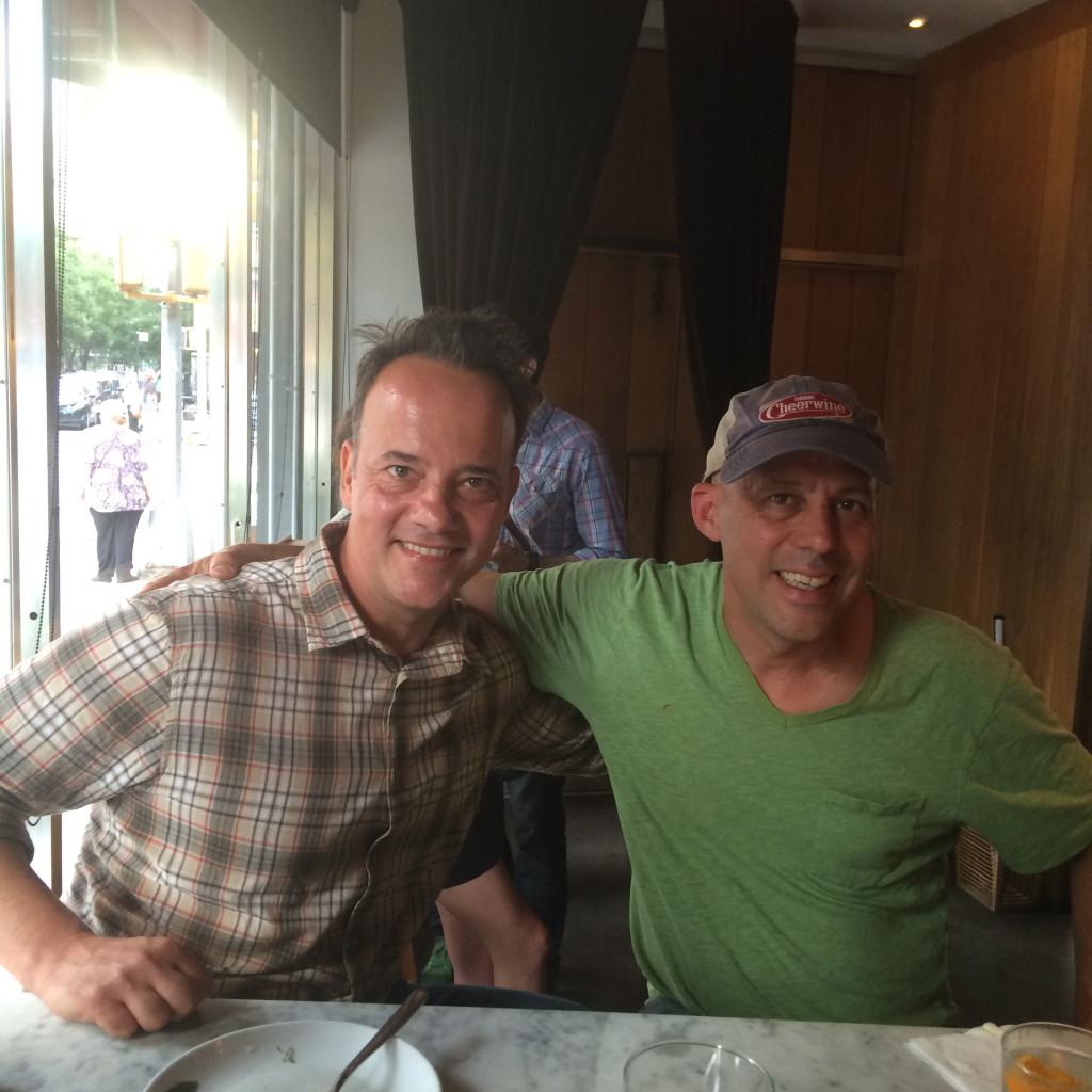 JIm and Andris at Co.