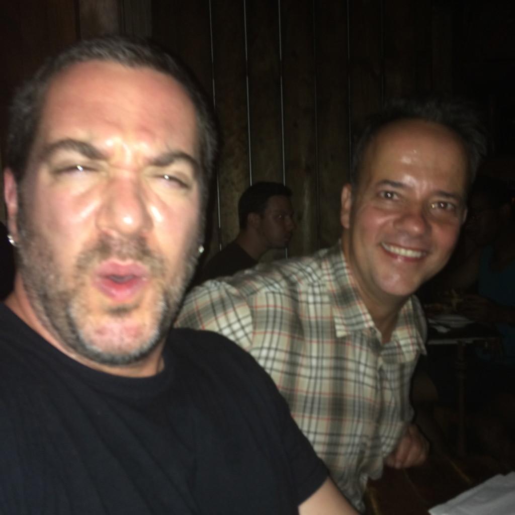Mark Bello and Andris
