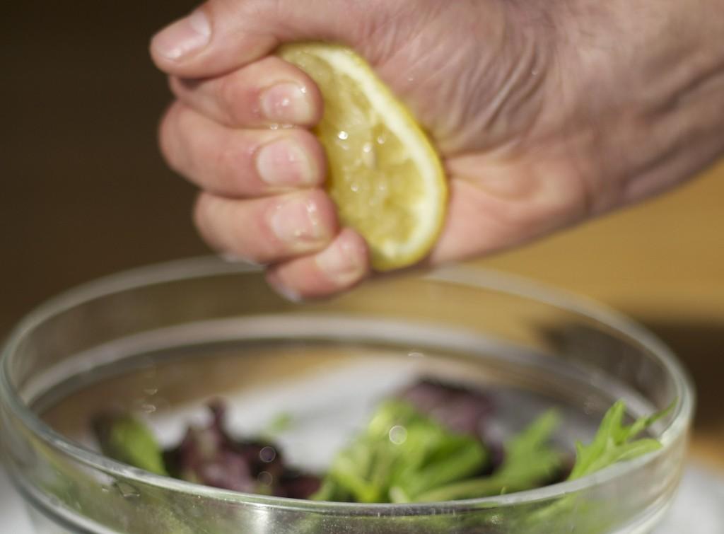 squeeze some lemon