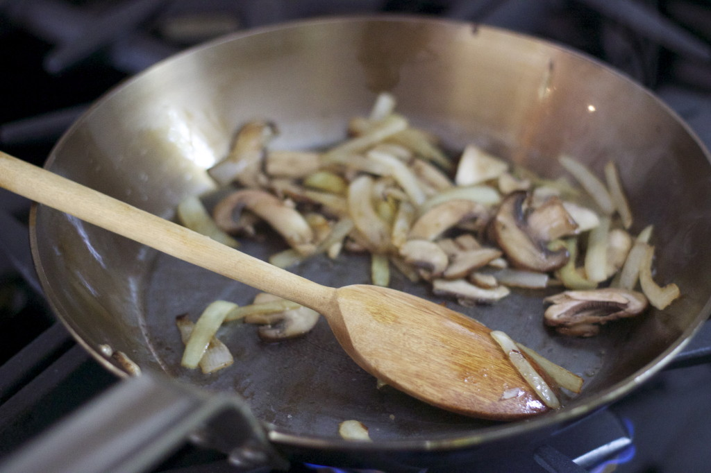 saute'd onions and mushrooms