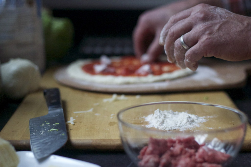 flour the beef lightly to encourage browning