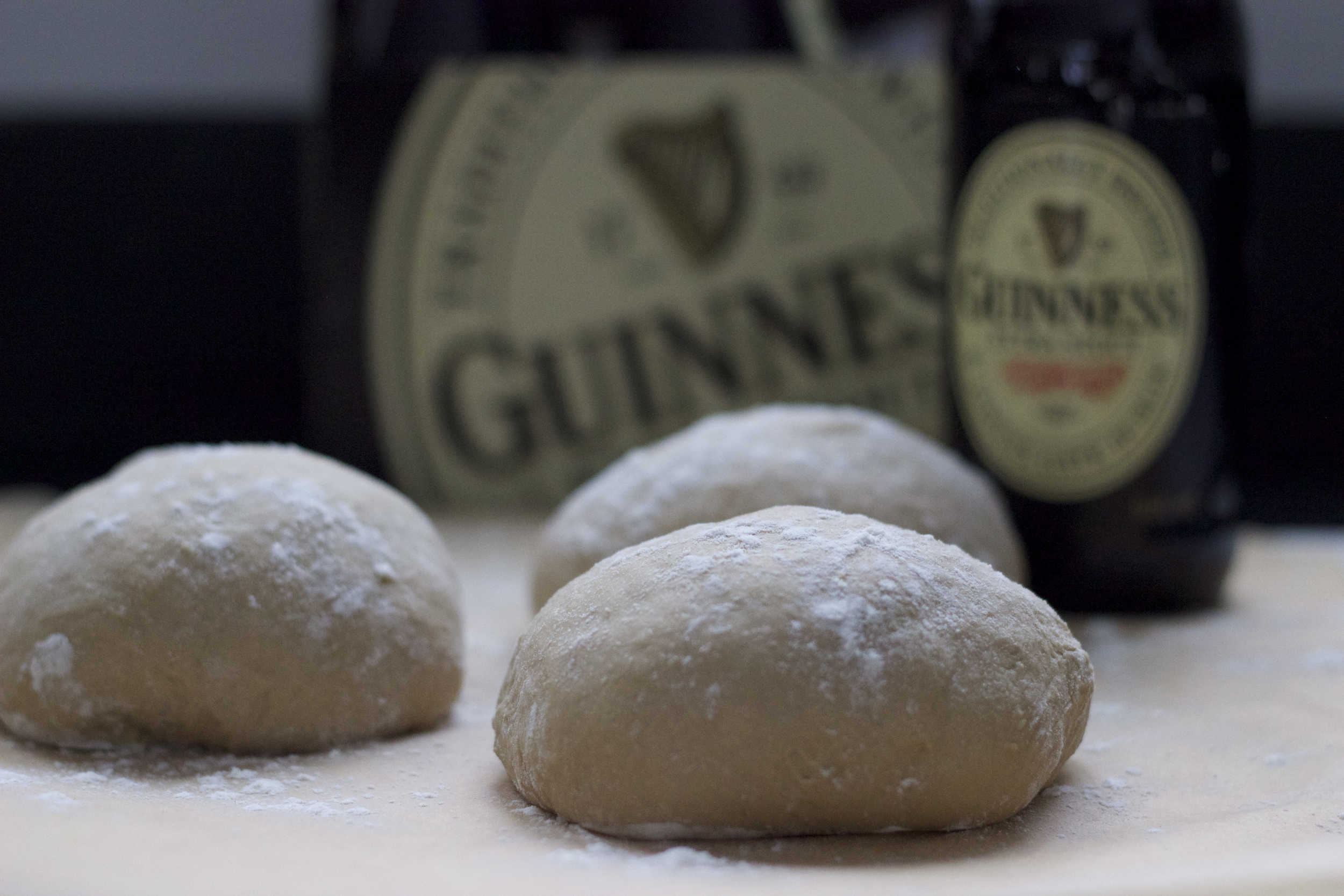 Guinness Beer Pizza Dough