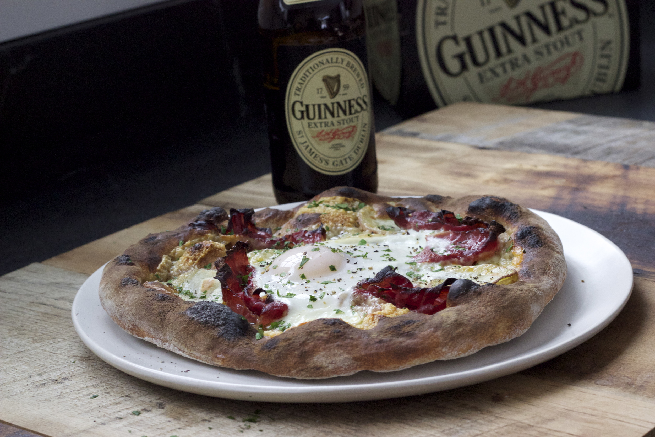 Irish Breakfast Pizza