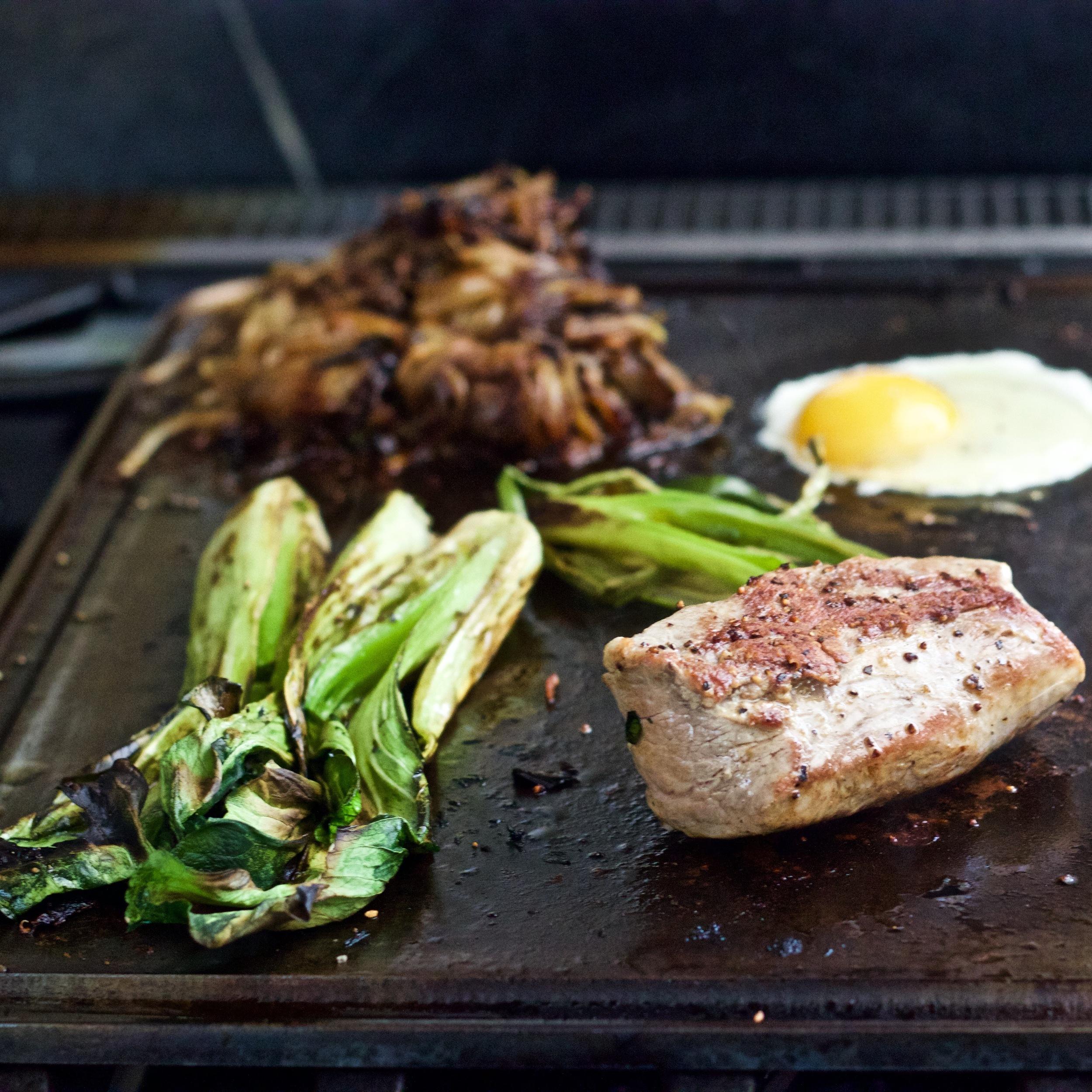 Pork on the Griddle