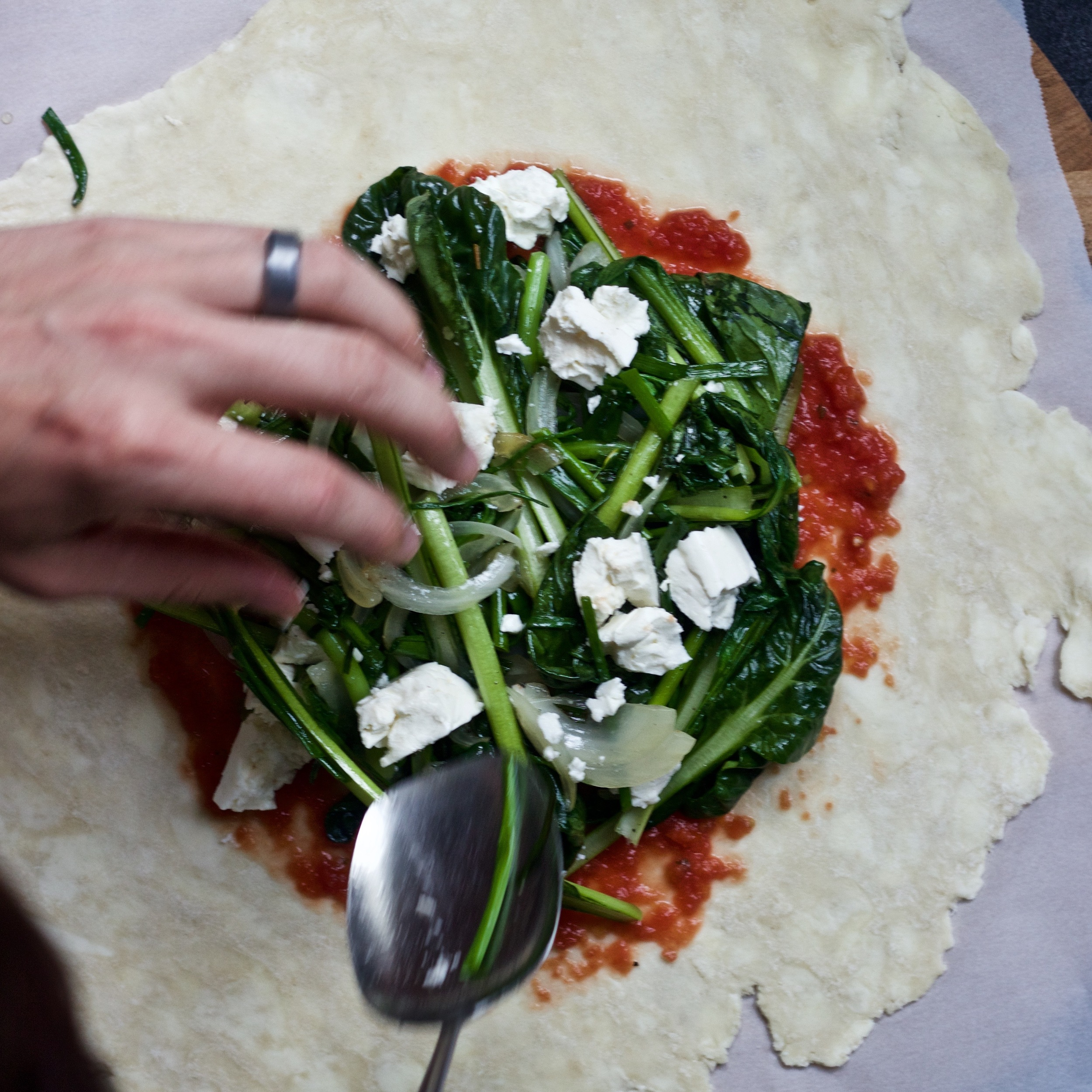 the making of a galette