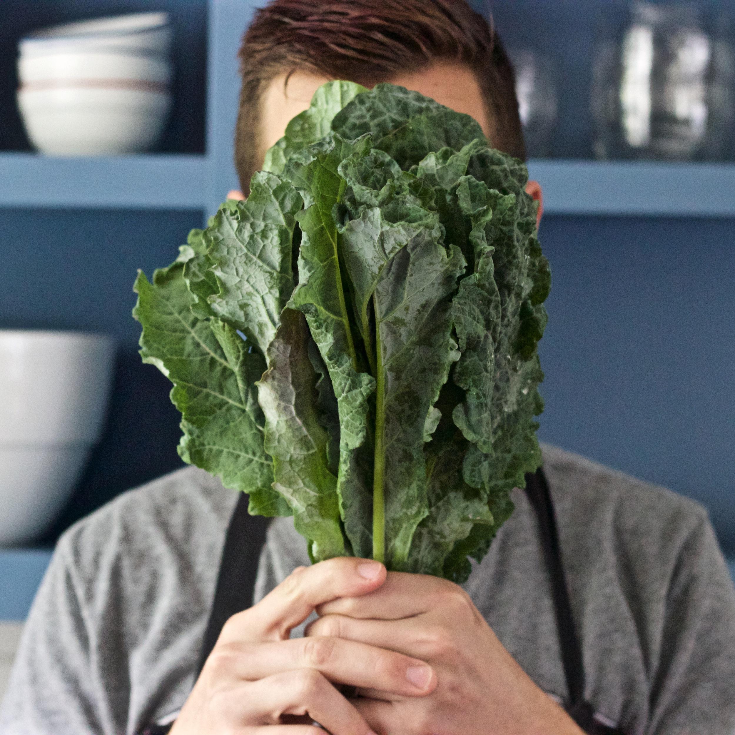 Kale head