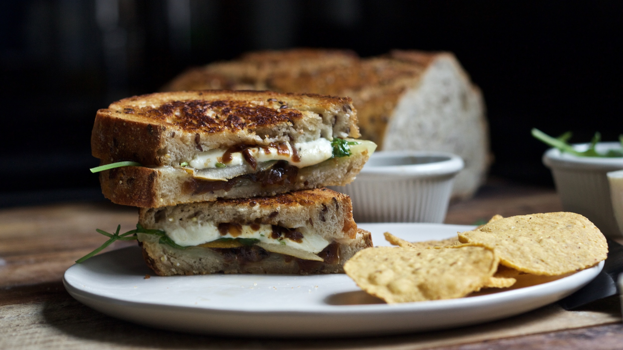 grilled manchego cheese sandwich