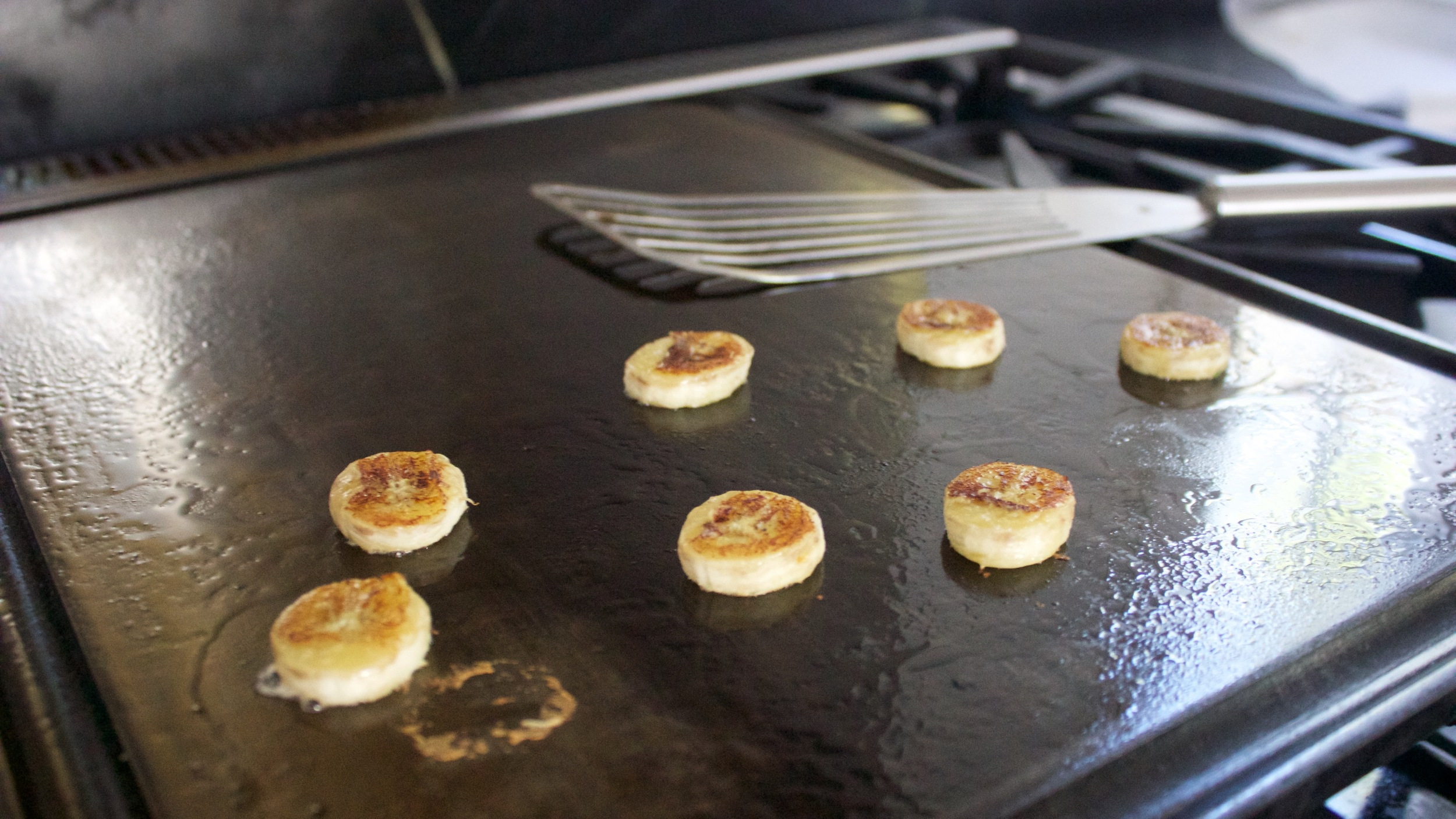 Griddle and Bananas