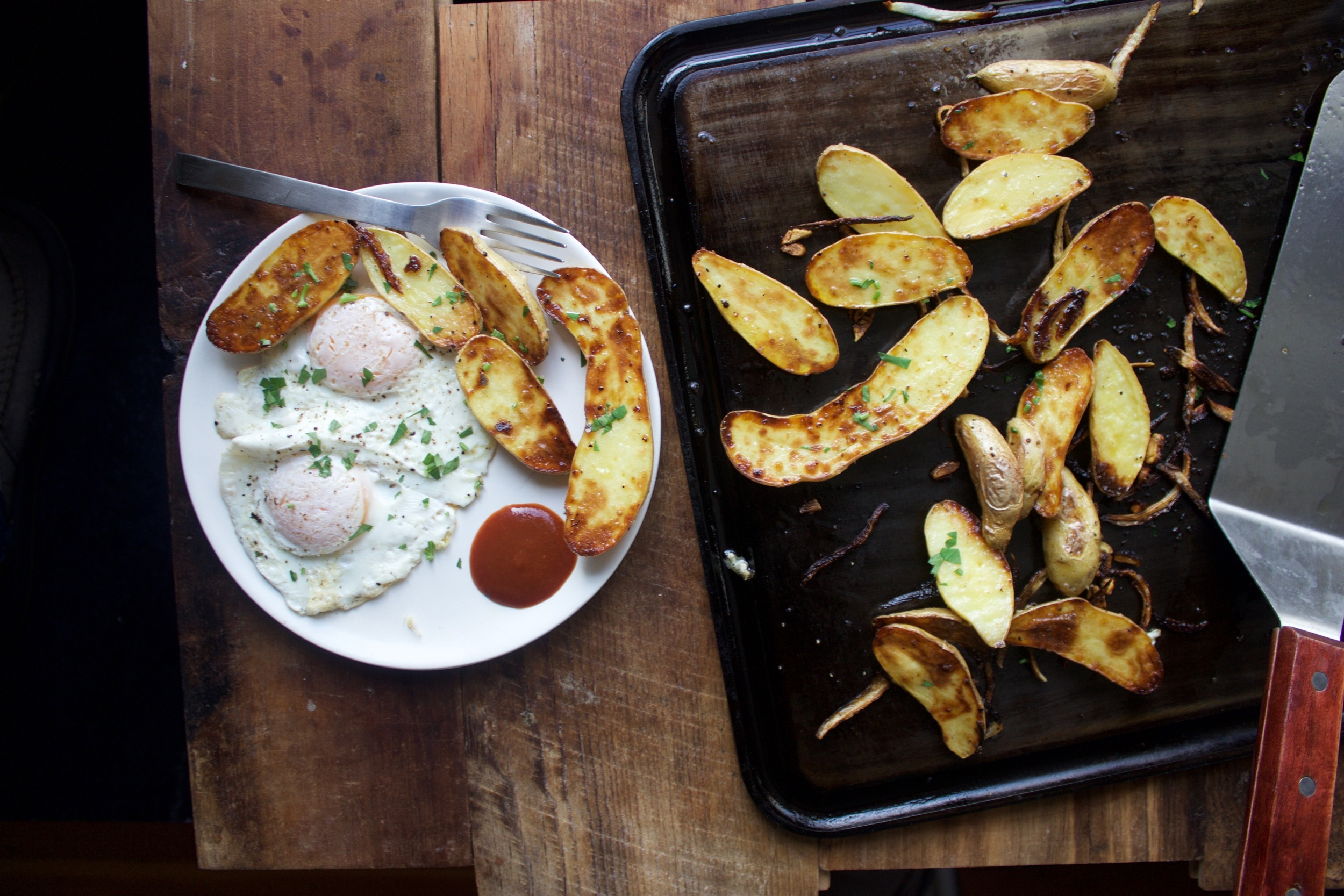 Baking Steel Griddle breakfast potatoes
