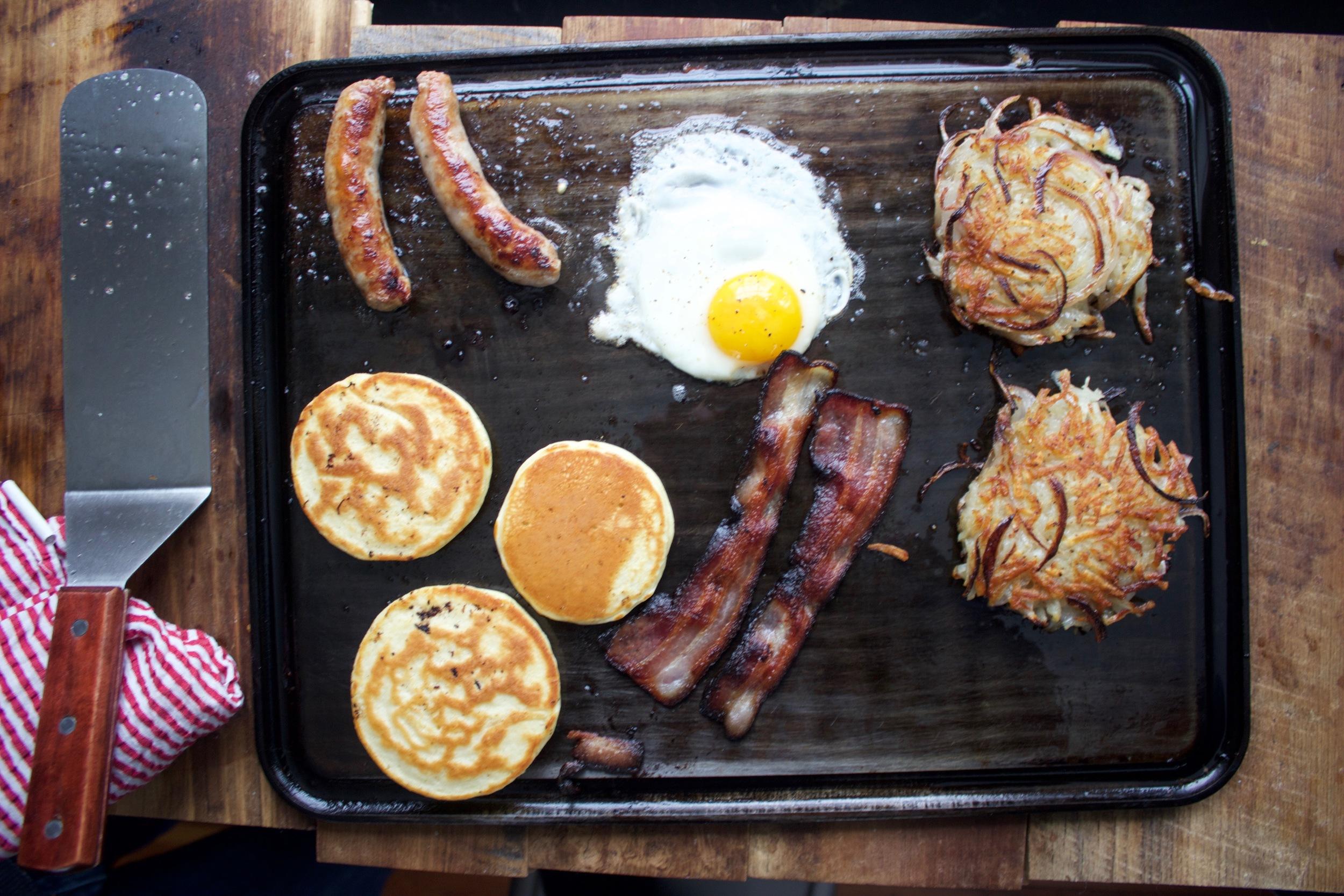 Baking Steel Griddle Breakfast
