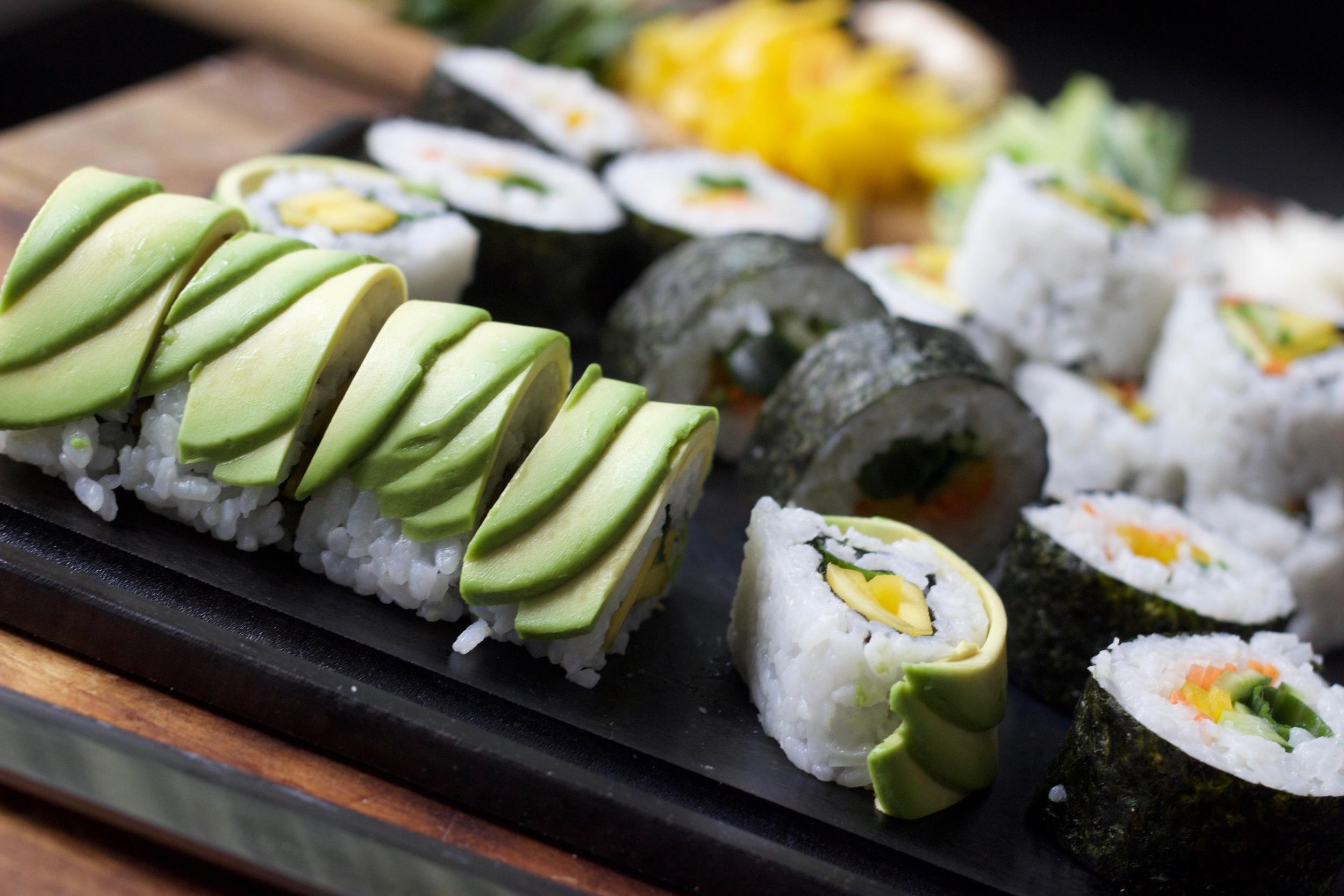 Sushi on the Mini