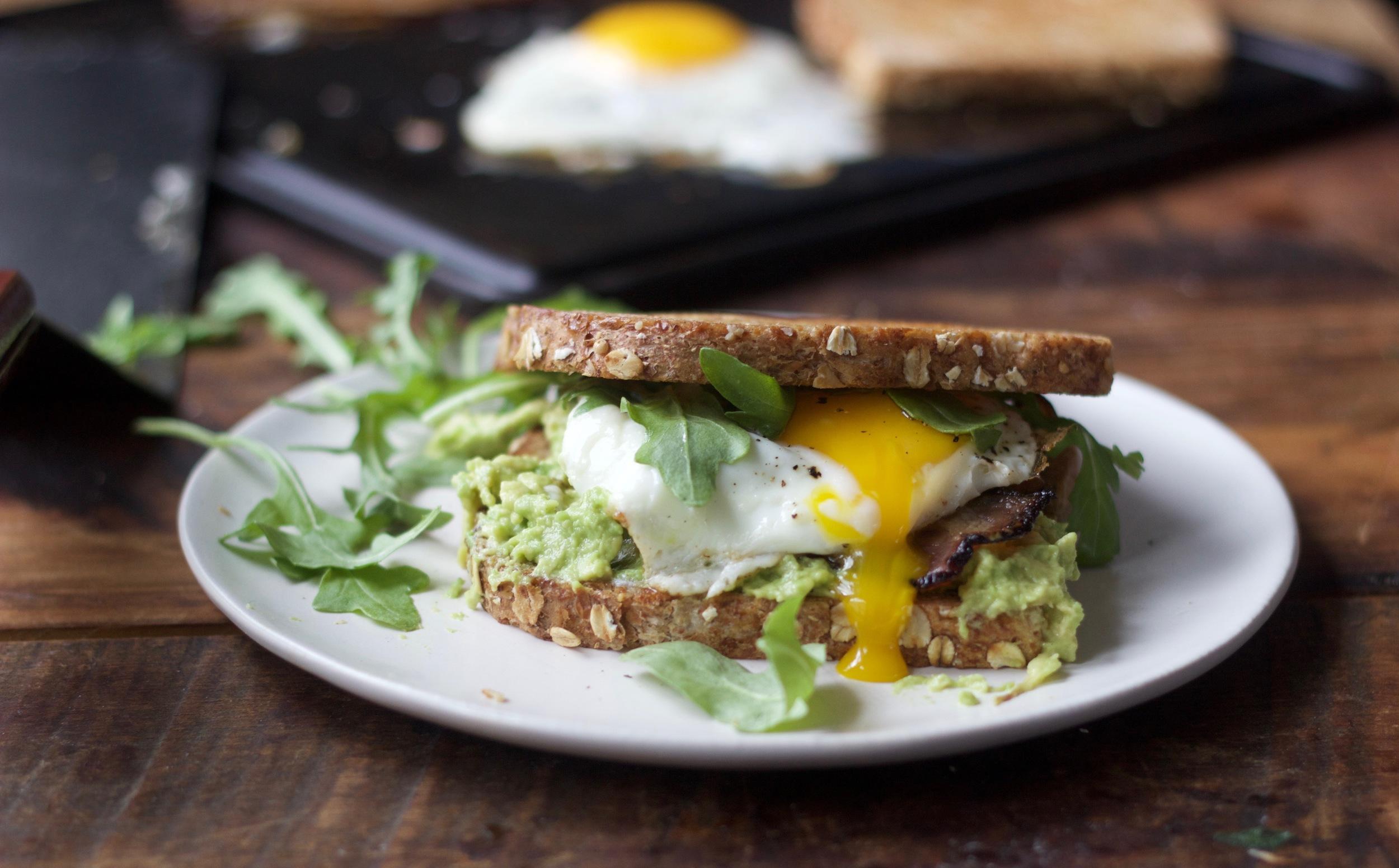 A Handley Breakfast Sandwich