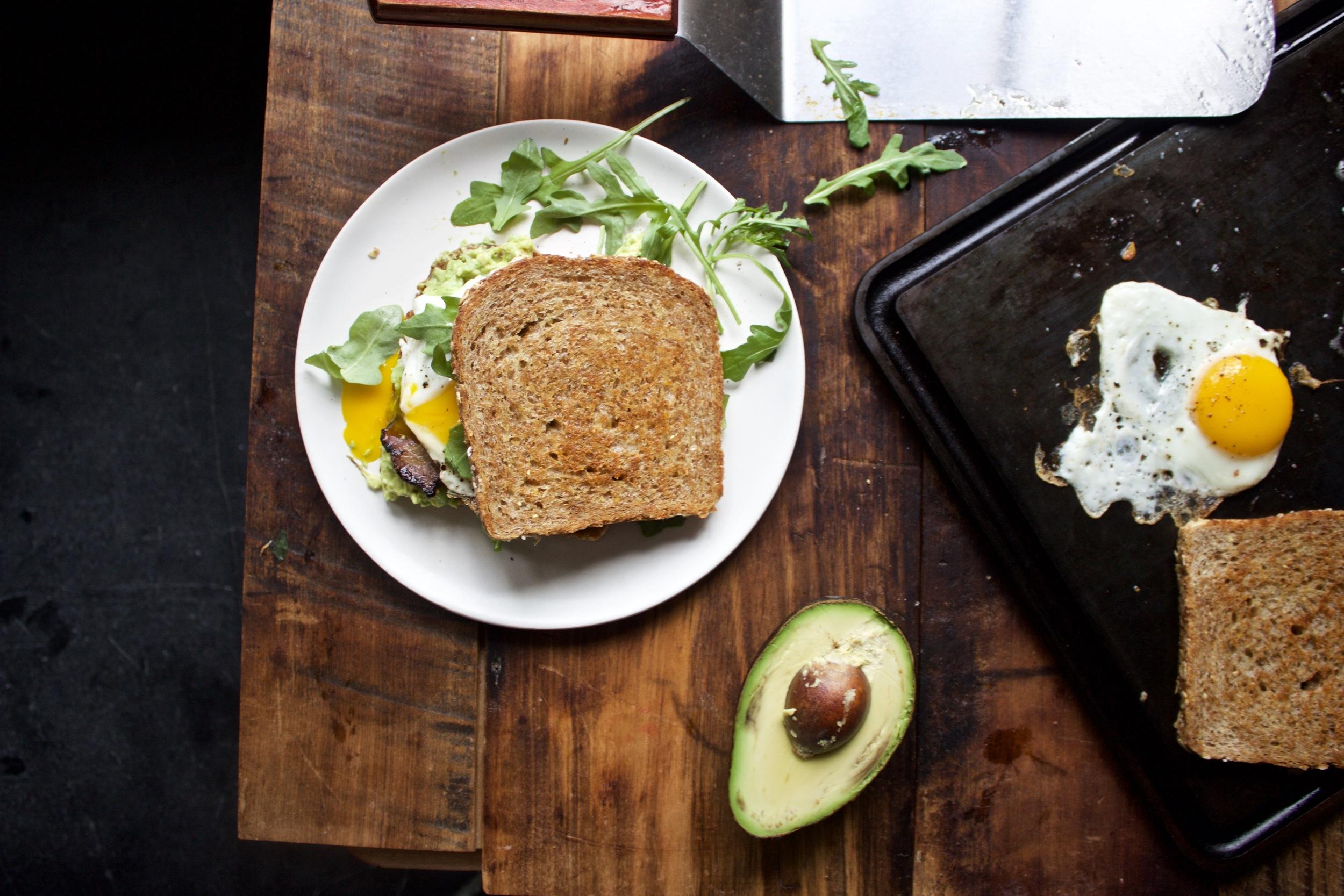 The Baking Steel Mini breakfast sandwich