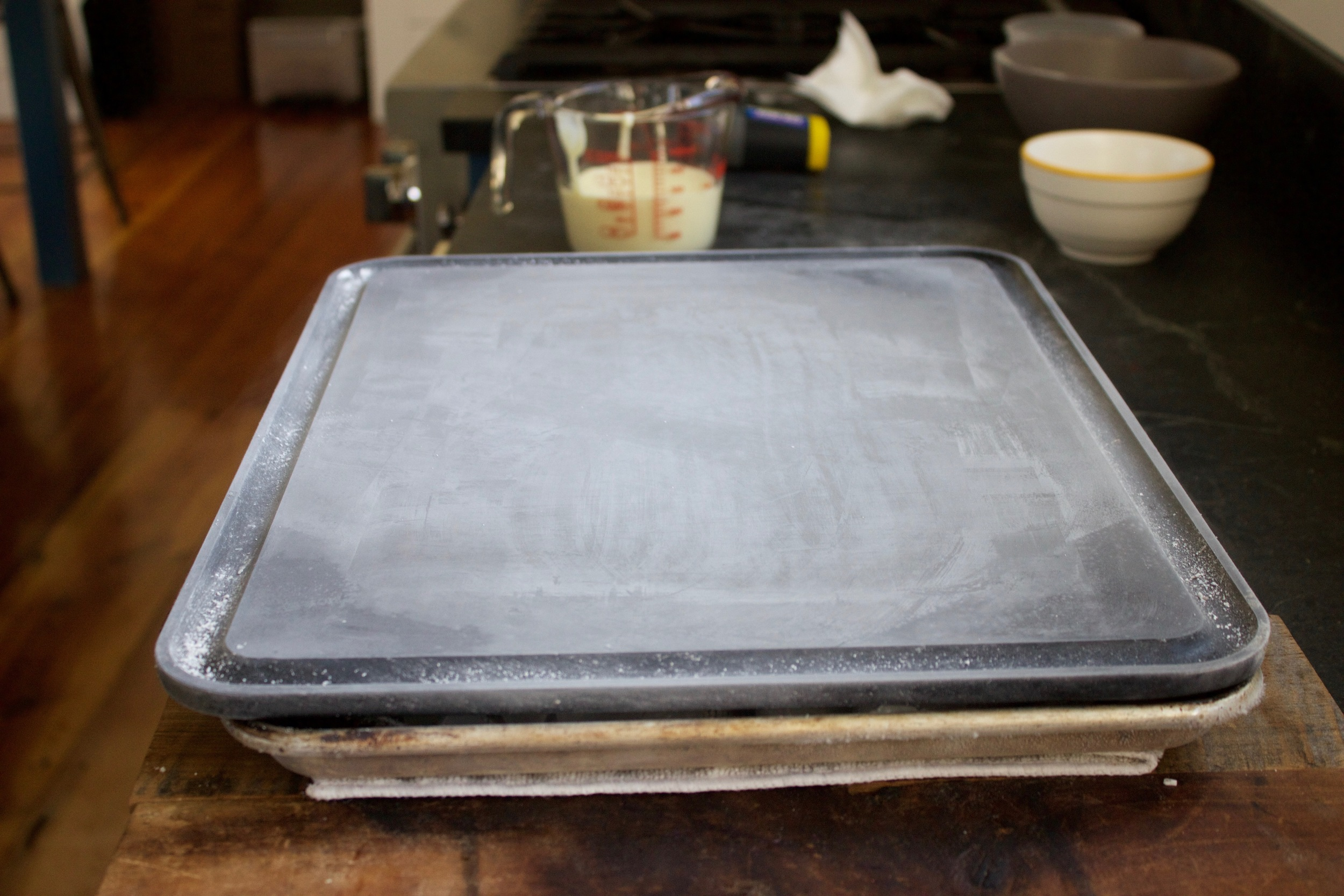 a frozen Baking Steel Griddle