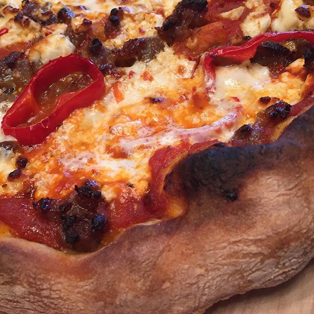 @bennypark  with some close up crust action!