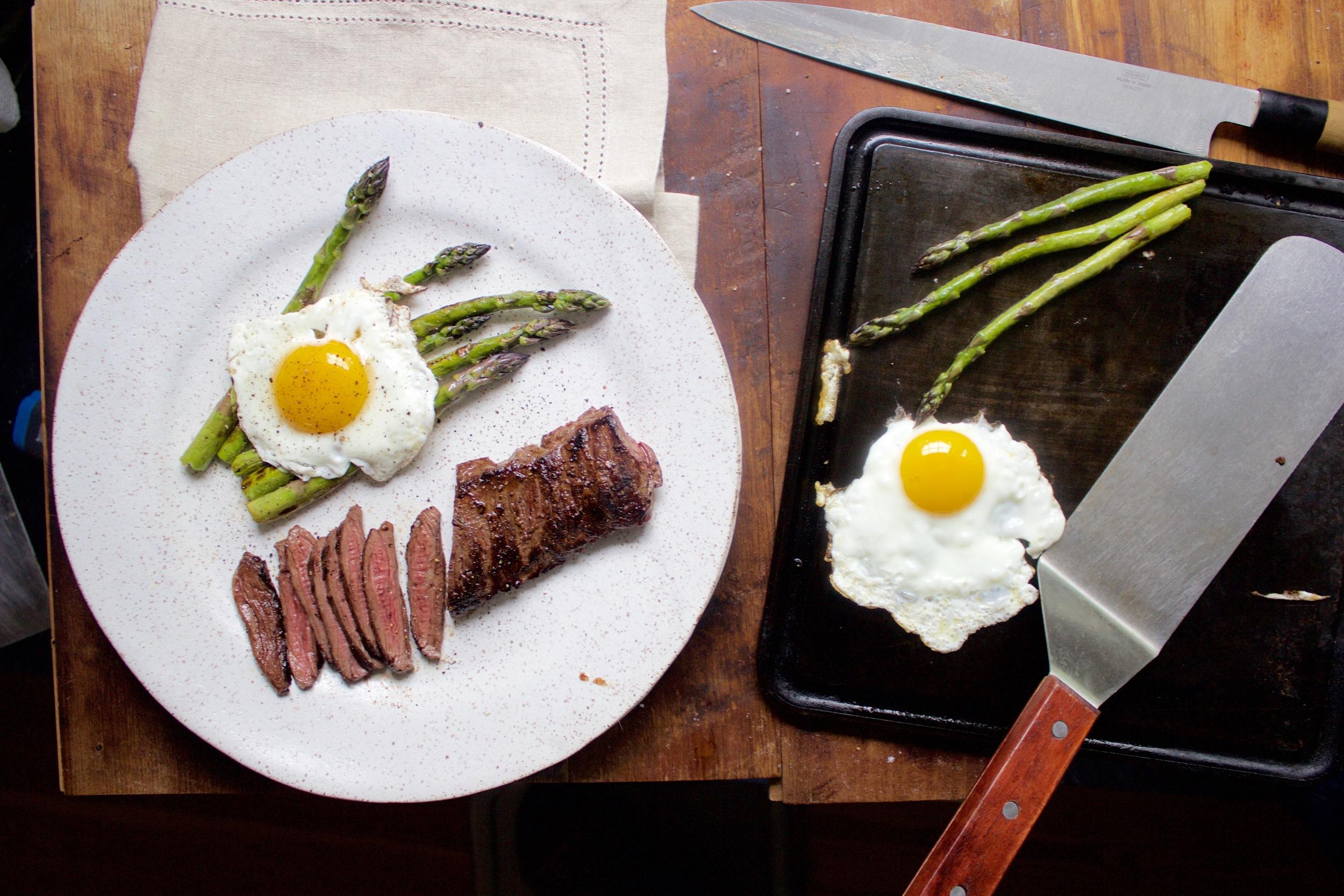 Tasty Steak and Egg on the Baking Steel Mini