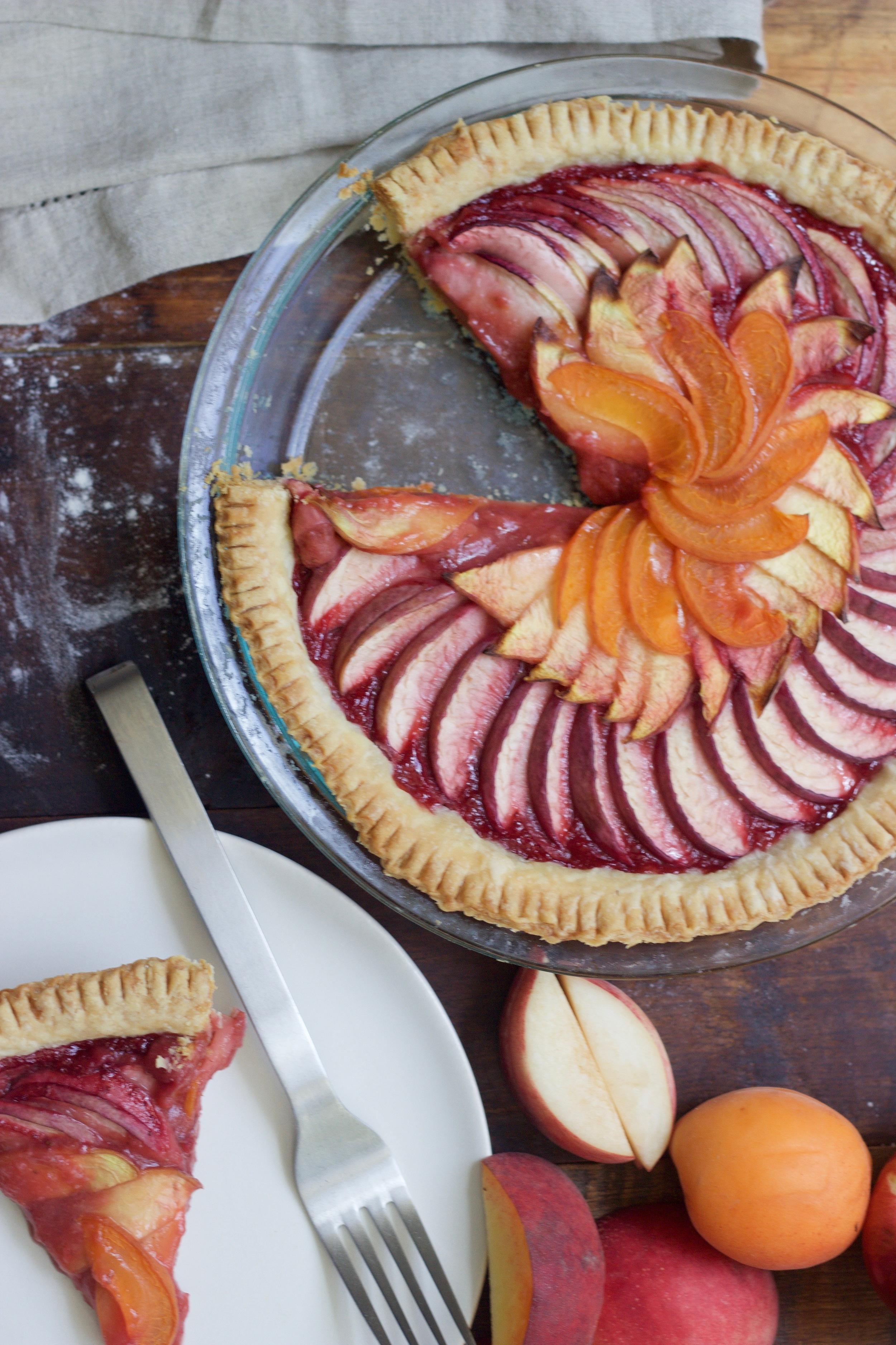 Stone Fruit Pie