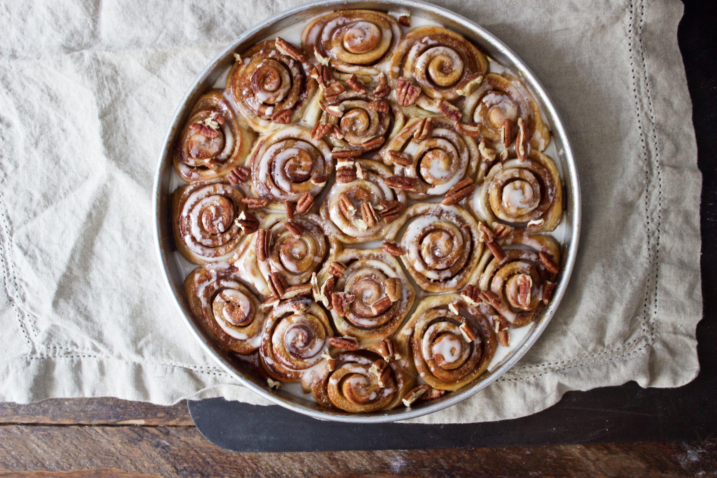 brioche cinnamon rolls