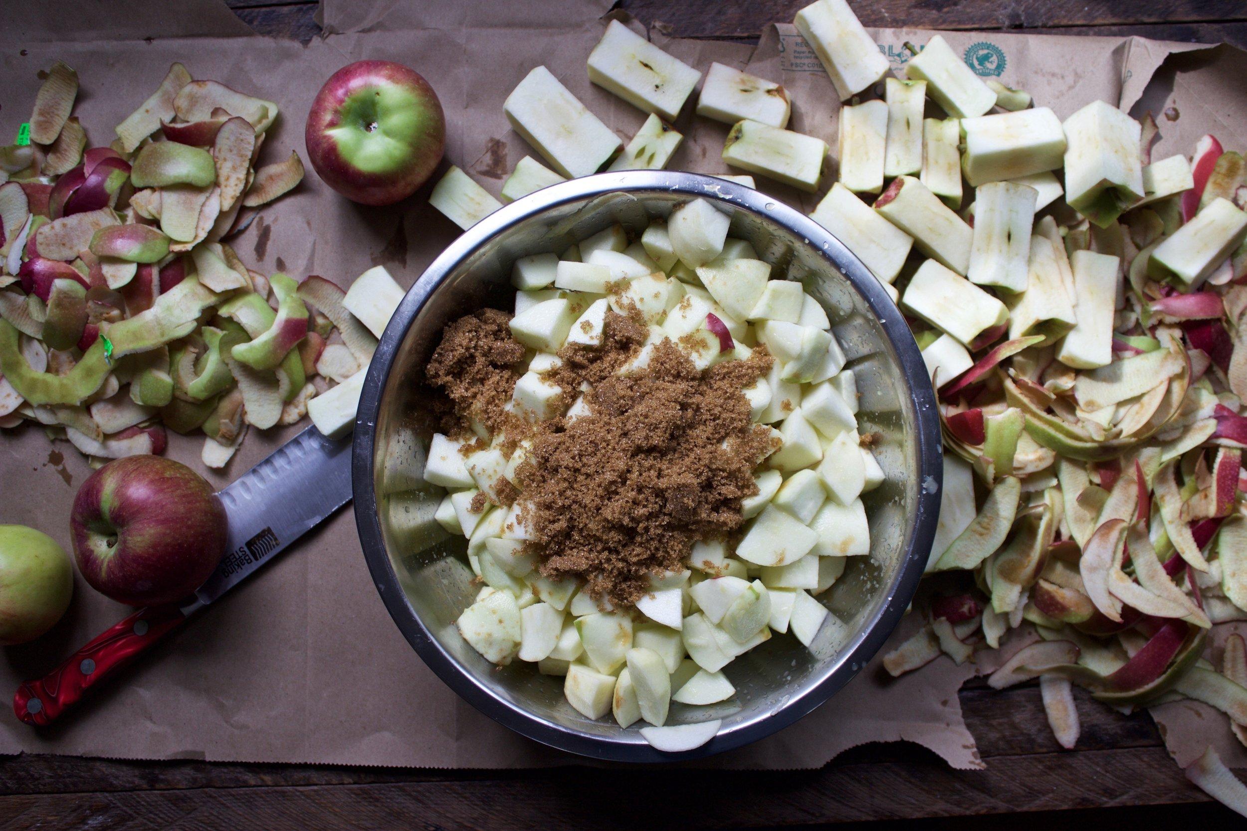 apple pie filing