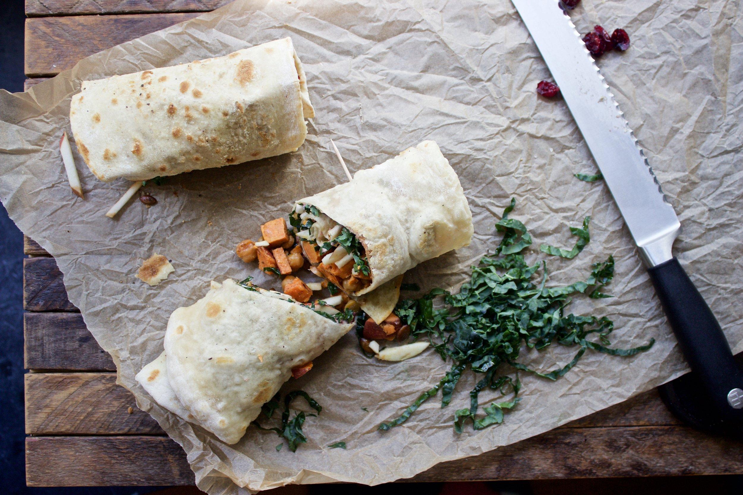vegan flatbread recipe