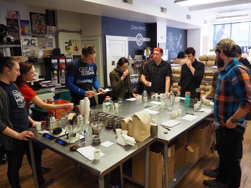 The Great Eskape #Coffeeoutside blend is born!