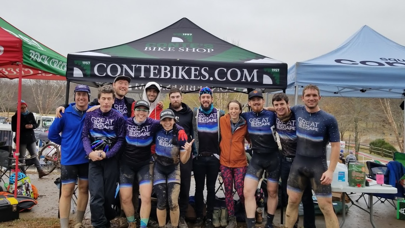 Roster - All of Great Eskape's 2018 cyclocross and adventure racing team members are back at it in 2019, plus a few new friends.