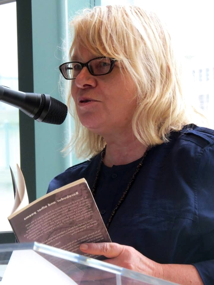 Jennifer Mackenzie reads from her book, Borobudur (Lontar).