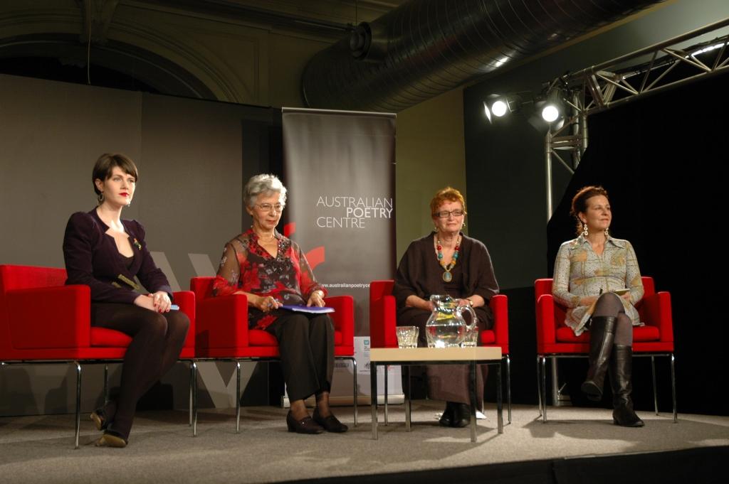 L-R: Chloe Wilson, Rachael Petridis, Ann de Hugard, Michelle Leber