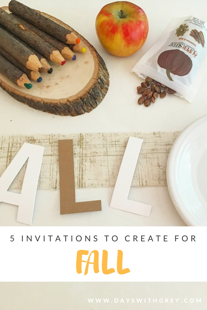 fall placesettings for preschooler