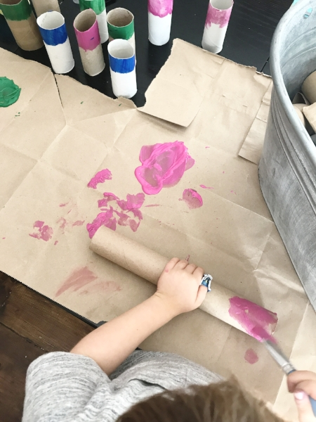 preschool color matching activity