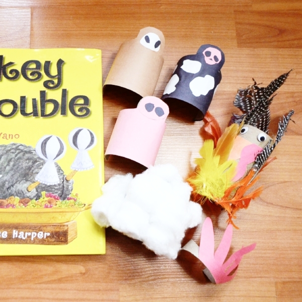 book activity turkey trouble