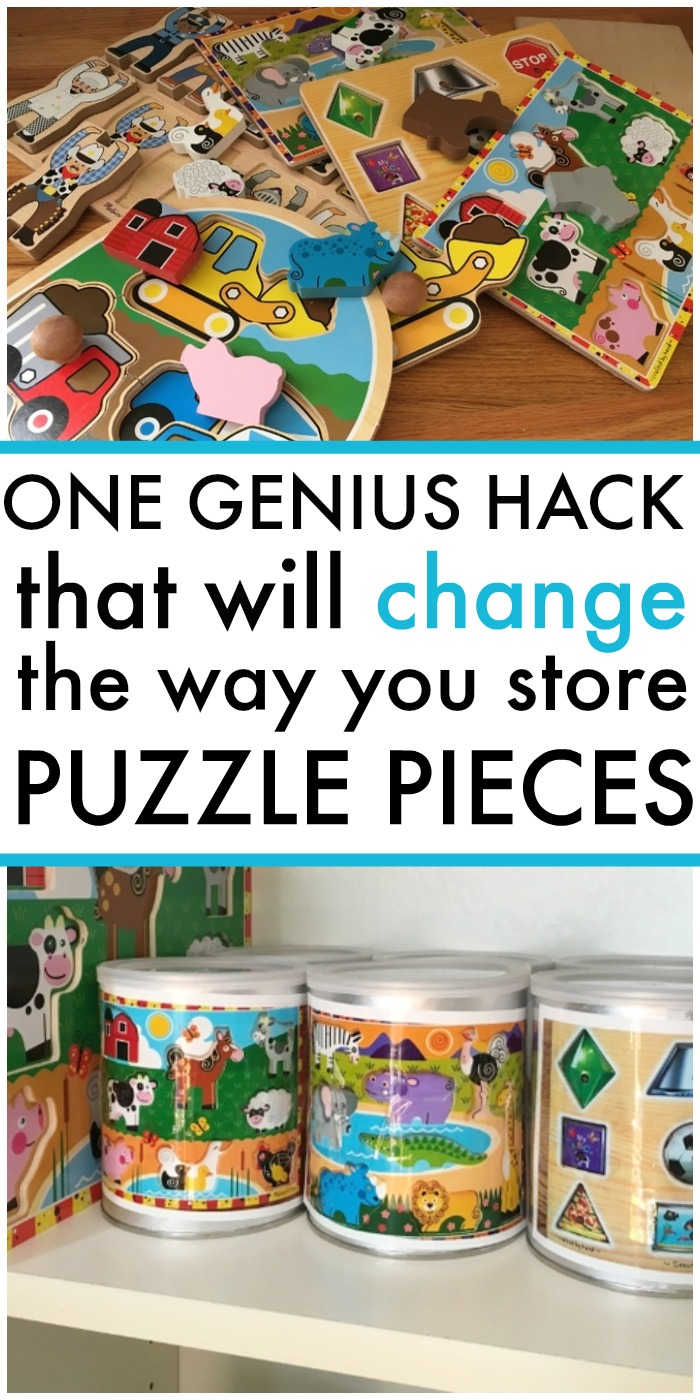 best mom hack for puzzles