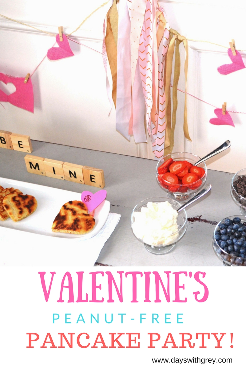Nut-free Valentine party for preschoolers