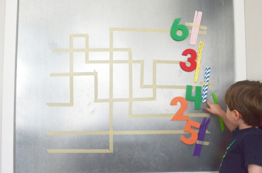 preschool counting and number game